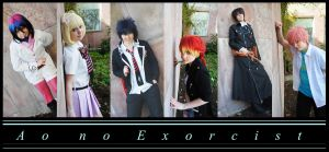 Ao no Exorcist by LostCompassPro