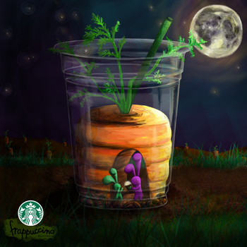 Carrotland: Starbucks Contest by amiricle