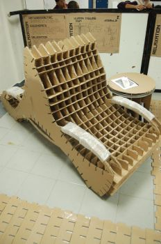recycled chair by syomd