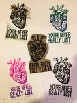 Stamp and Prints: You're Never Really Lost by OdieFarber