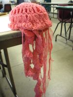 crochet jellyfish by aria-sings