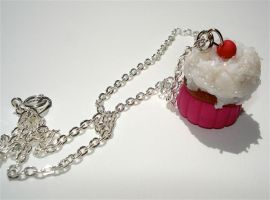 sparkly cupcake by MotherMayIjewelry