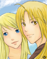 FMA - Journey's End by HiHiyori