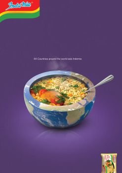 Indomie Press ad by omarhamdy