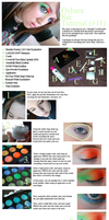 Colorful Make-up Tutorial 11 by drag-my-soul