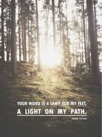 PSalm 119:105 by aners56