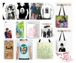 Society6 and RedBubble by BeyondThePines