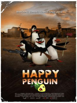 Happy Penguin L4d2 Poster by ItsNeT
