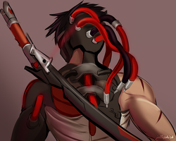 Blackwatch Genji by jellophish
