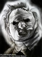 Leatherface by TheDragonofDoom