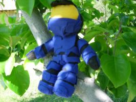 Red vs. Blue Plush-Caboose by GaryIsGreat