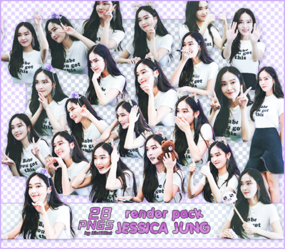 [PACK RENDER #99] 28 PNGS JESSICA JUNG by RinYHEnt