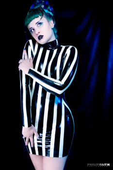 Beetlejuice Lady by Cassiasparkle