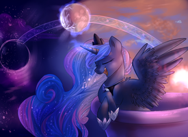 Moon lullaby by Segraece