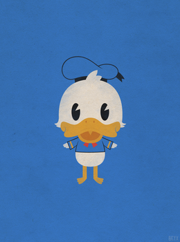 Donald Duck by beyx