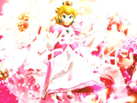 Peach Amiibo Pose MMD by Luna2528CP