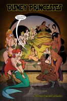 Disney Princesses in Jabba's Palace by thecreatorhd