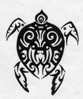 Tribal Turtle by M-Everham