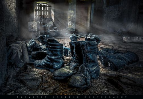 Old shoes by AbandonedZone