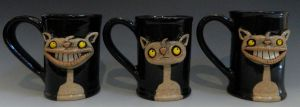 Three Cat Mugs by thebigduluth