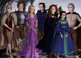 The Big Four: Lord of the Rings by supereilonwypevensie