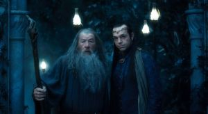gandlaf and elrond by vampireloup