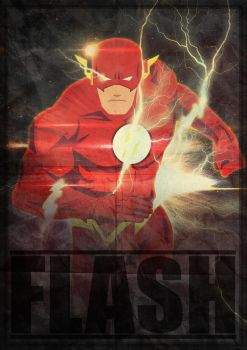 POSTER FLASH by herobaka