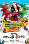 Christmas Eve Party Flyer Template by koza30