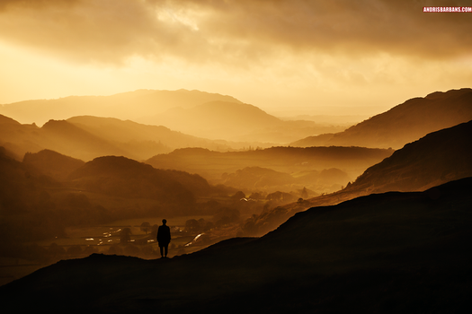 Over the Valley by AndrisBarbans
