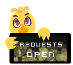 Chica Requests Open Stamp by Ink-cartoon