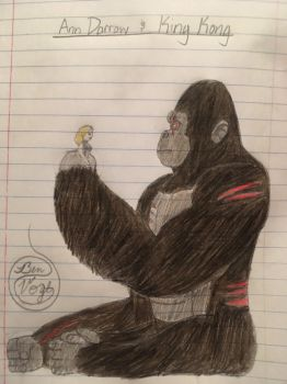 Ann Darrow and King Kong by AnimalOfEden