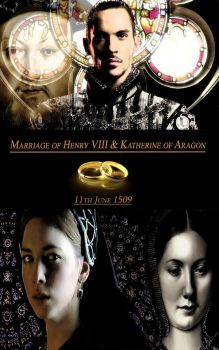 Henry VIII and Katherine of Aragon by Nurycat