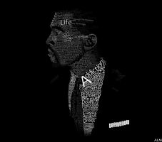 Kanye West typography by Modernerd