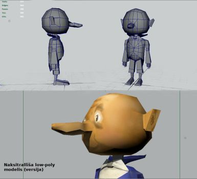 A character Naksitroll modeling in progress by Pumais
