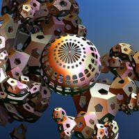 ball with chaotic cubes by Andrea1981G