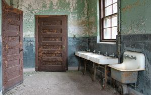 Institutional Bathroom by baleze