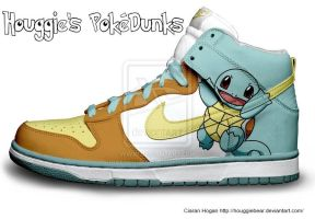 Squirtle Nike Dunks