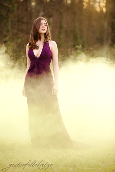 Marie and the mystical fog by gestiefeltekatze