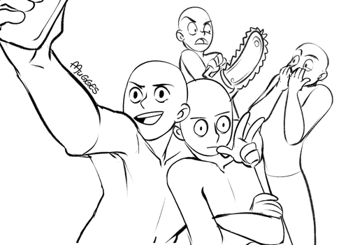 Draw the squad by Mugges