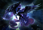NightmareMoon by bluefire144