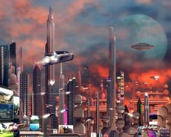 Future City by RobAndersonJr