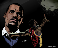 Lebron James by geereezy