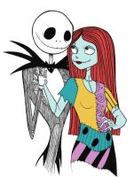 Jack and Sally for Kristin by WhipsmartMcCoy