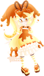 Caramel Pudding Inkling by Ghiraham-Sandwich