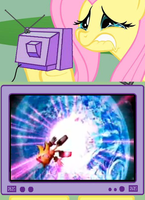 Fluttershy TV -Super Shadow- by ShonowTH