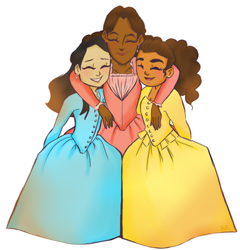 The Schyler Sisters by FeFetheArtisy