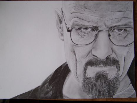 Mr. WHITE. Breaking Bad by matejovakatka