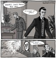 Holmes, the CAKE!?! by Windmaedchen