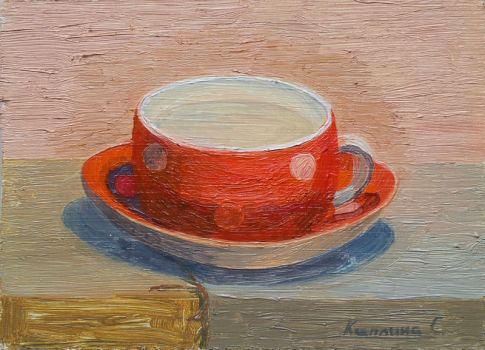 Just a cup by Luzblanca