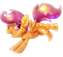 Scootaloo by Zoiby